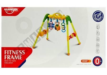 Stojak dla niemowląt z Grzechotkami Żółty