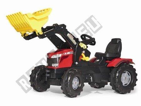 Traktor Farmtrac MF 8650 z łyżką czarno-czerwony !