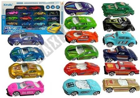 Zestaw Samochodów Resoraków 16 Autek